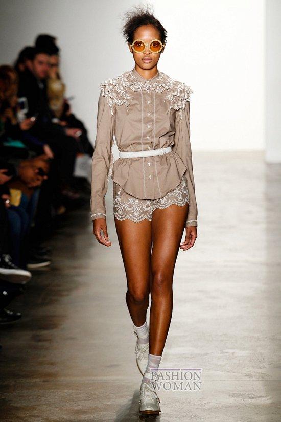 Модные блузки осень-зима 2014-2015 фото №37
