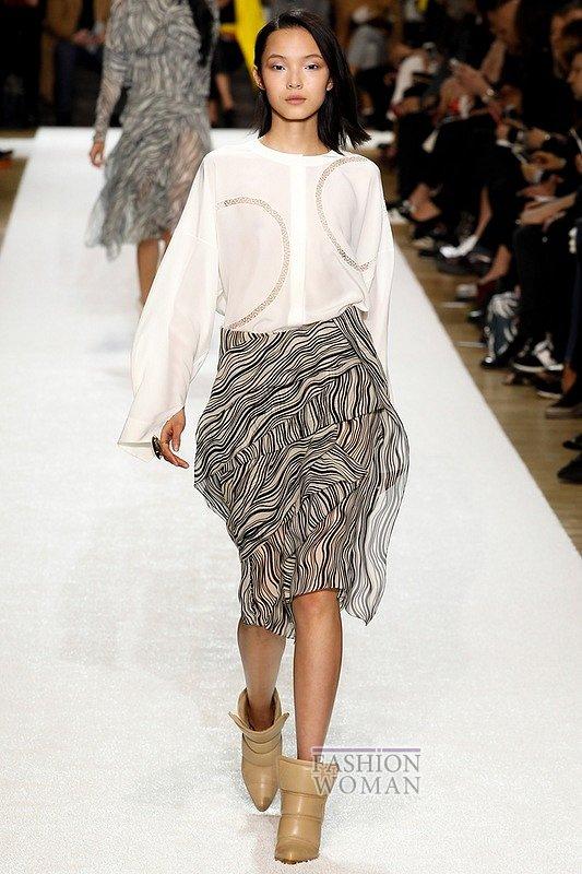 Модные блузки осень-зима 2014-2015 фото №38