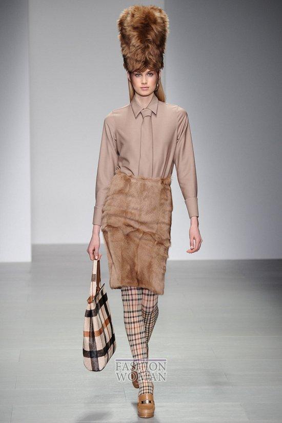 Модные блузки осень-зима 2014-2015 фото №39