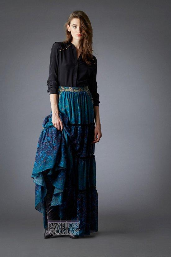 Модные блузки осень-зима 2014-2015 фото №42