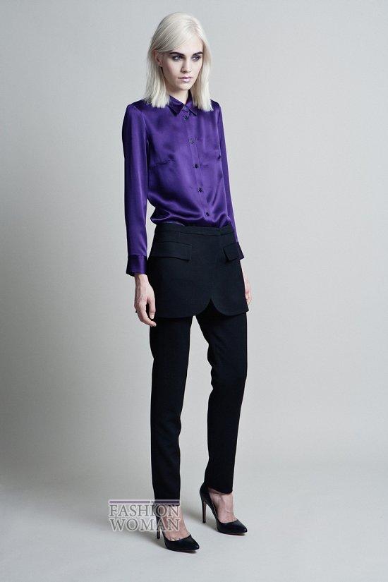 Модные блузки осень-зима 2014-2015 фото №43