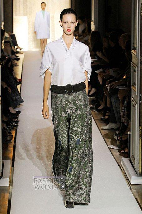 Модные брюки весна-лето 2012 фото №12