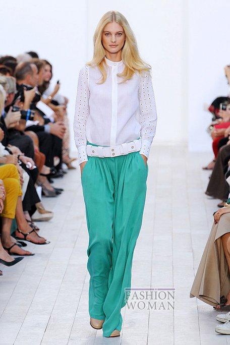 Модные брюки весна-лето 2012 фото №10