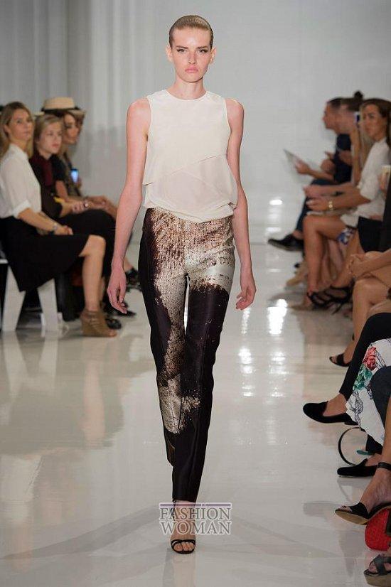 Модные брюки весна-лето 2015 фото №7