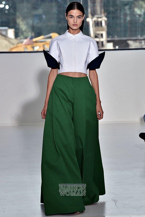 Модные брюки весна-лето 2015 фото №11