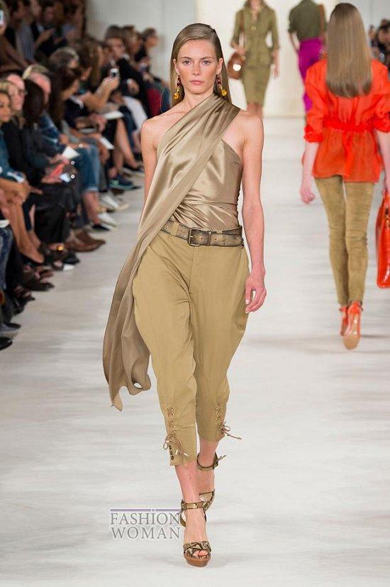 Модные брюки весна-лето 2015 фото №34
