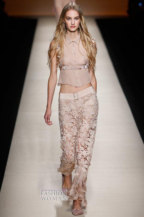 Модные брюки весна-лето 2015 фото №39