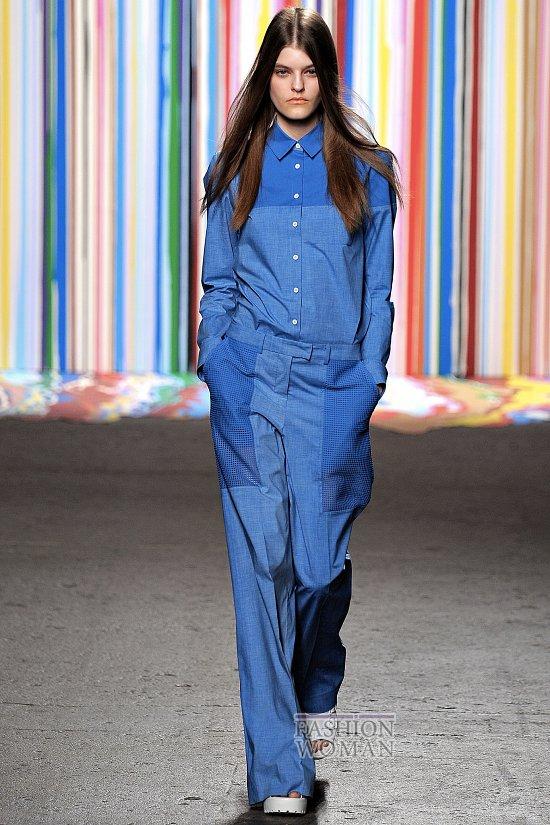 Модные брюки весна-лето 2015 фото №38