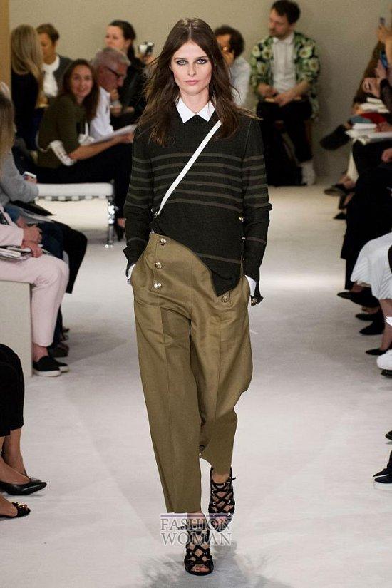 Модные брюки весна-лето 2015 фото №45