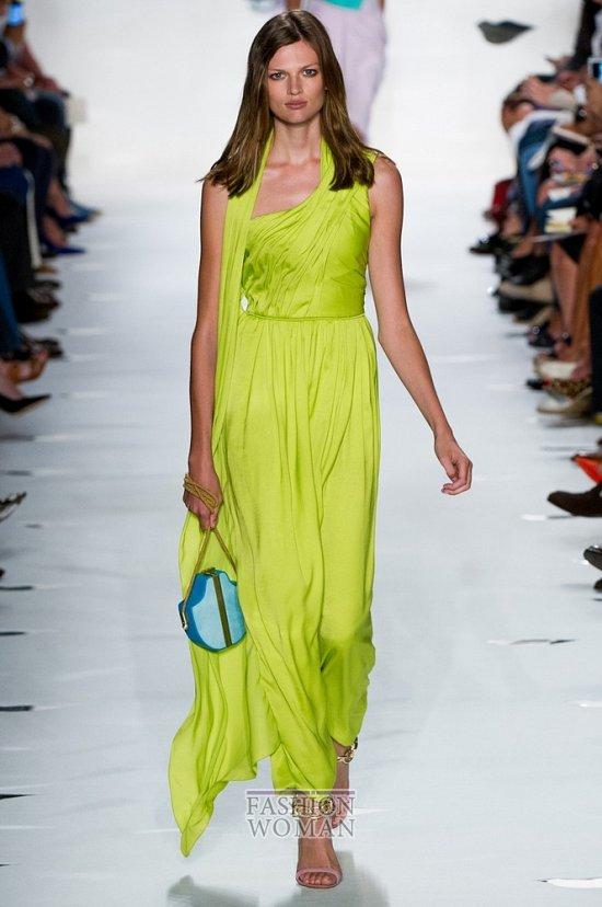 вечернее платье от Diane von Furstenberg