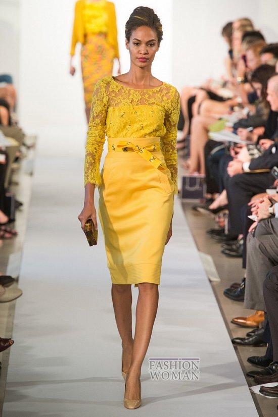 желтый модный цвет