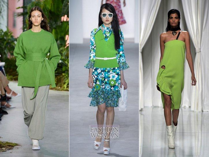 Модные цвета весна-лето 2017 фото №1