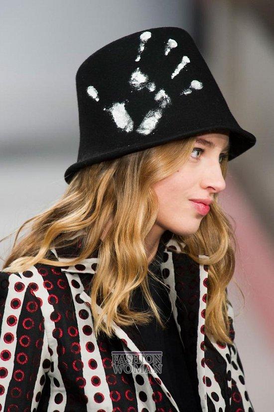 Модные головные уборы осень-зима 2014-2015 фото №17