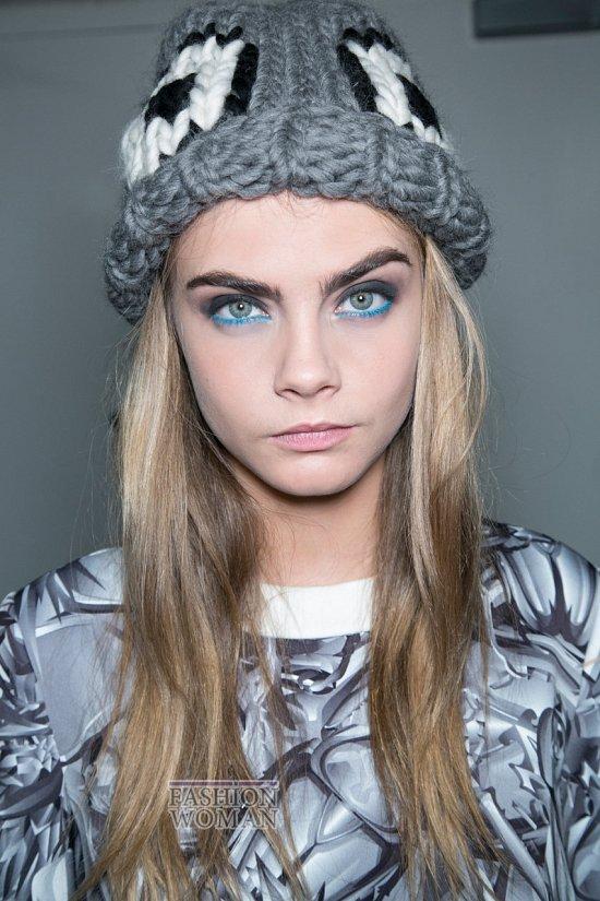 модные вязанные головные уборы