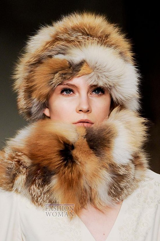 Модные головные уборы осень-зима 2014-2015 фото №33