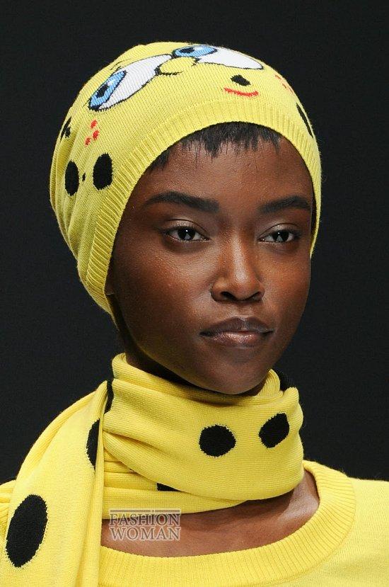 яркие женские шапки