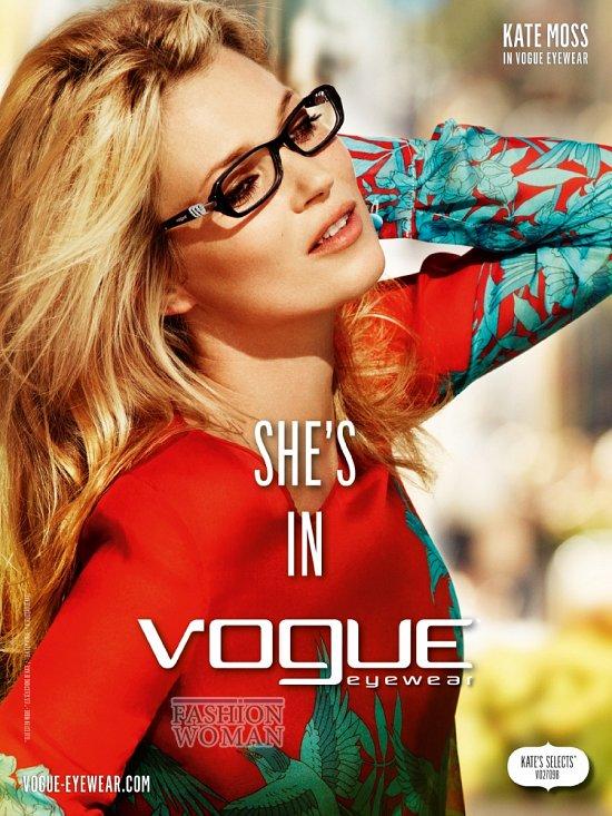 Модные очки весна-лето 2012 от Vogue Eyewear фото №1