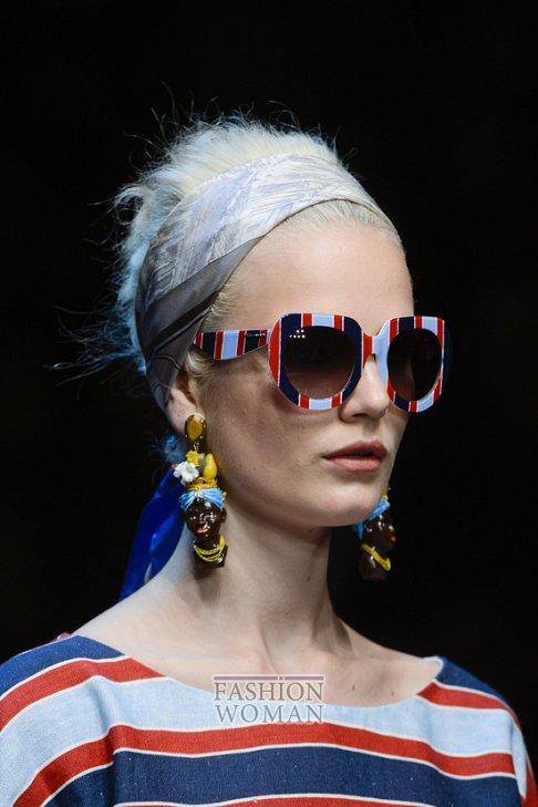 очки Dolce & Gabbana весна-лето 2013