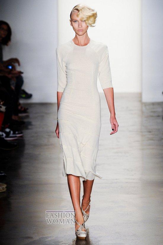 Модные офисные платья 2014 фото №8