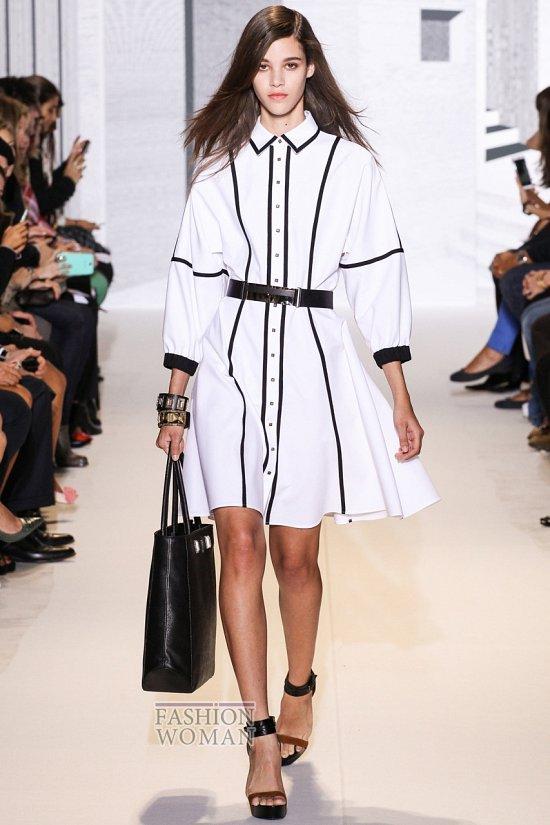 Модные офисные платья 2014 фото №16