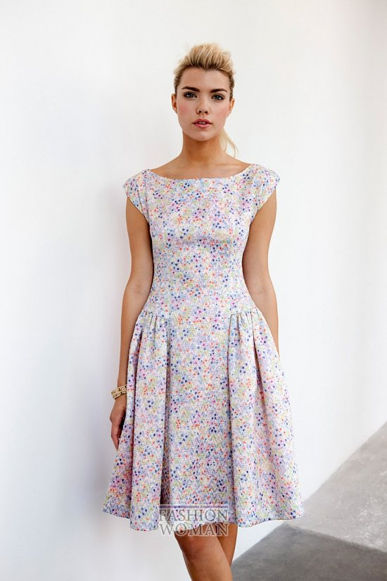 Модные офисные платья 2014 фото №41