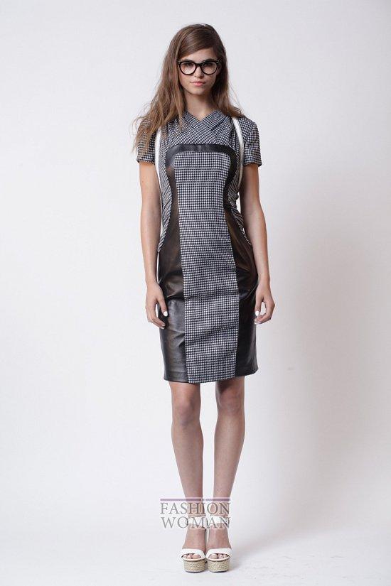 Модные офисные платья 2014 фото №42