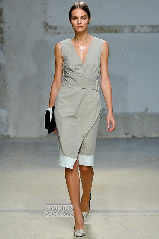 Модные офисные платья 2014 фото №12