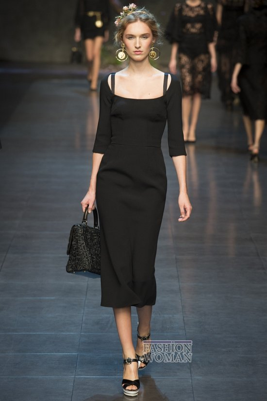 Модные офисные платья 2014 фото №13
