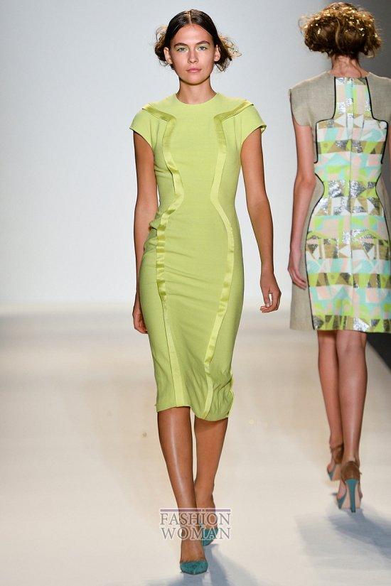 Модные офисные платья 2014 фото №28