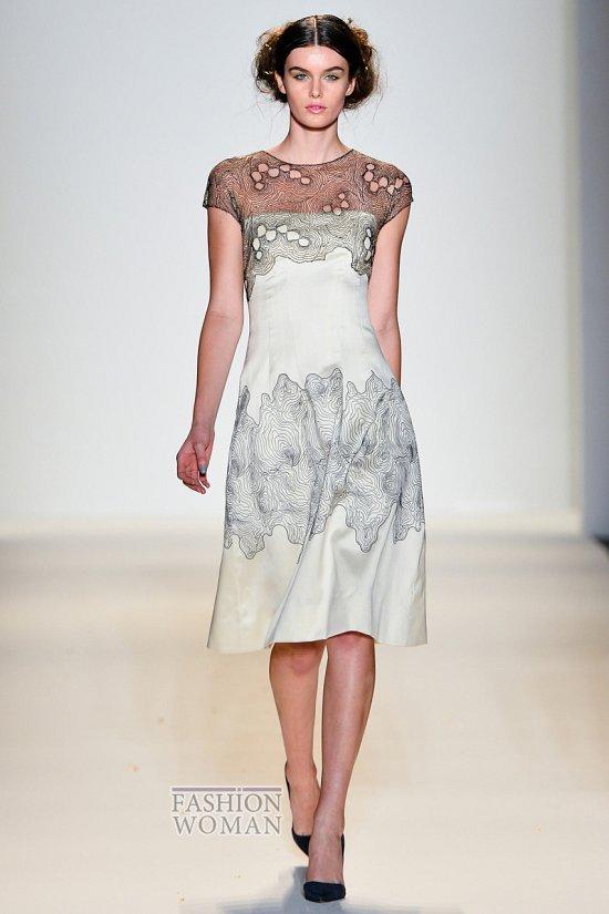 Модные офисные платья 2014 фото №30