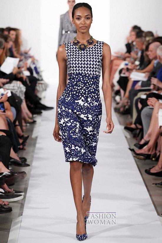 Модные офисные платья 2014 фото №32