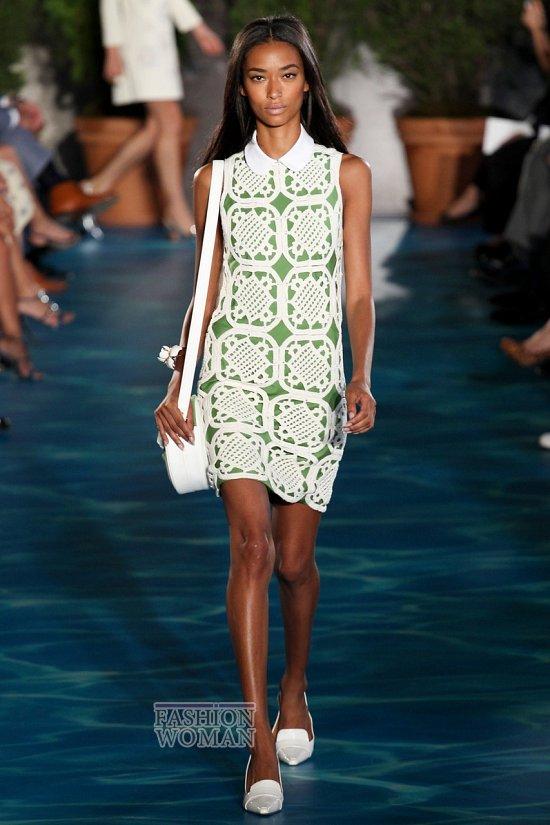 Модные офисные платья 2014 фото №38