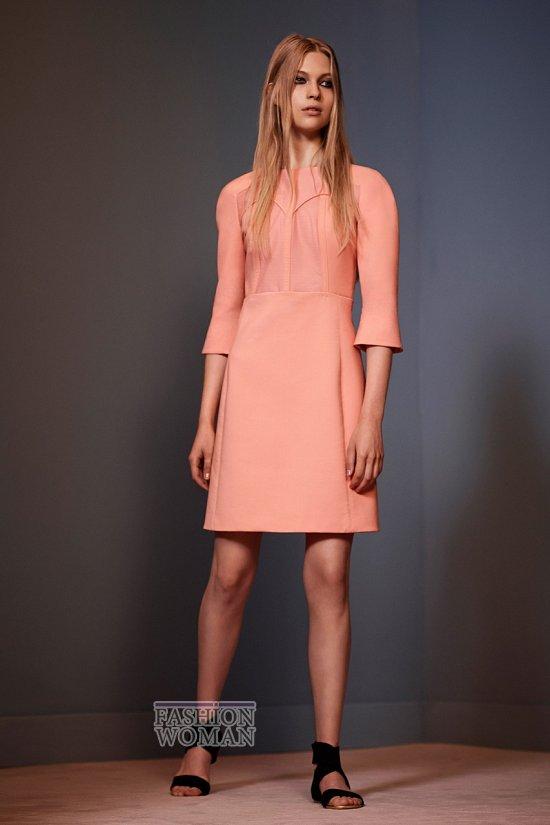 Модные офисные платья 2014 фото №43