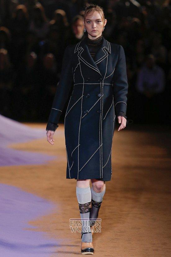 Модные пальто 2015 фото №4
