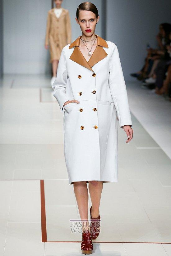 Модные пальто 2015 фото №5