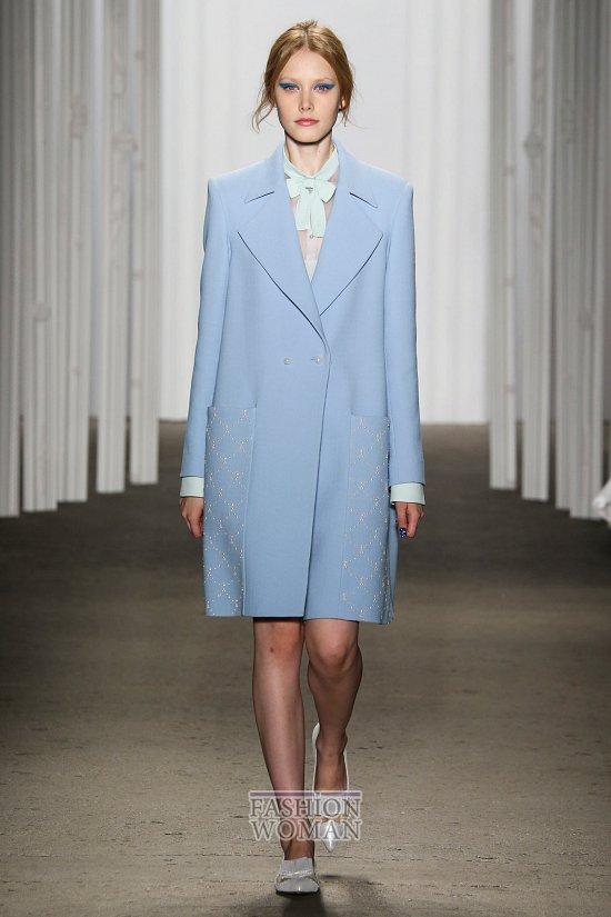 Модные пальто 2015 фото №11