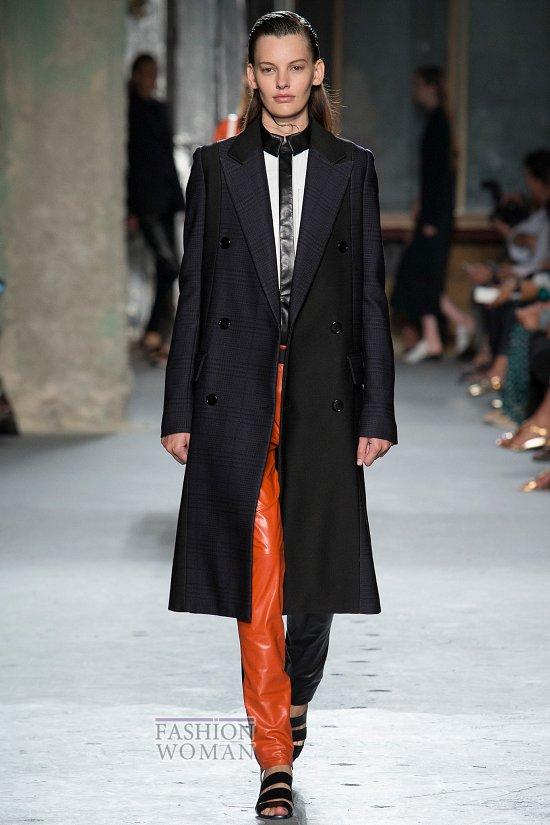 Модные пальто 2015 фото №10