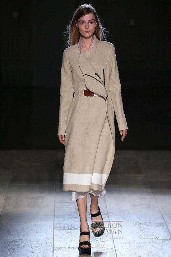 Модные пальто 2015 фото №27