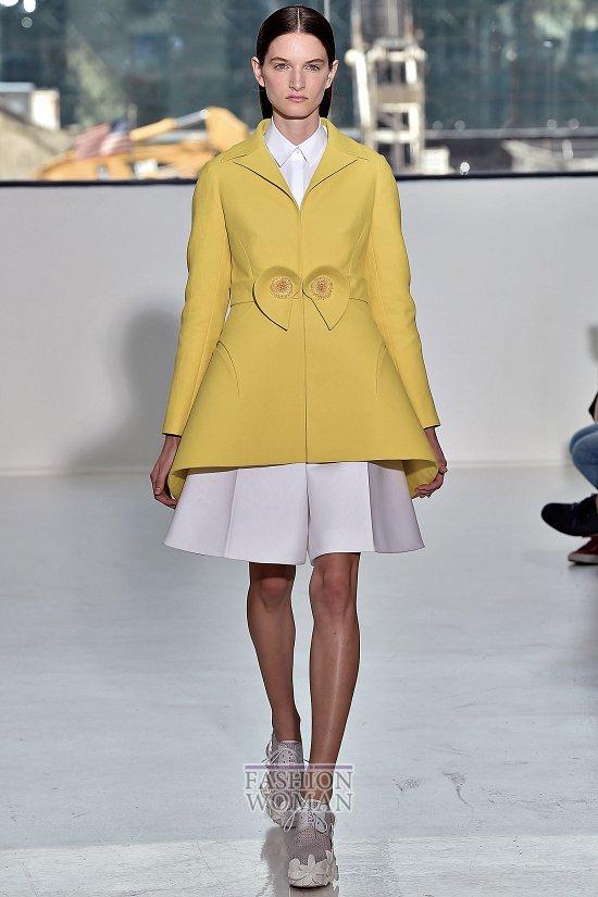 Модные пальто 2015 фото №32