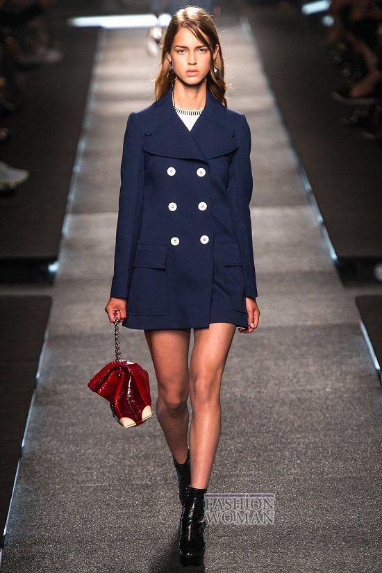 Модные пальто 2015 фото №49