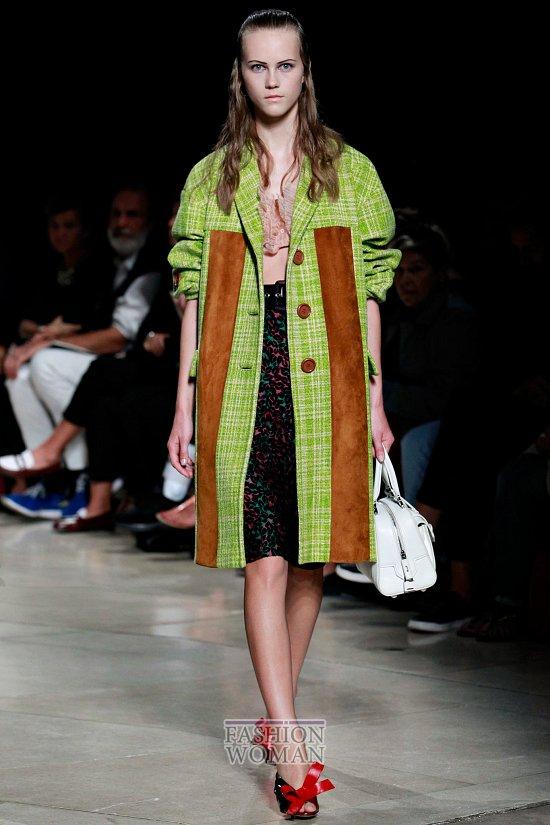 Модные пальто 2015 фото №45