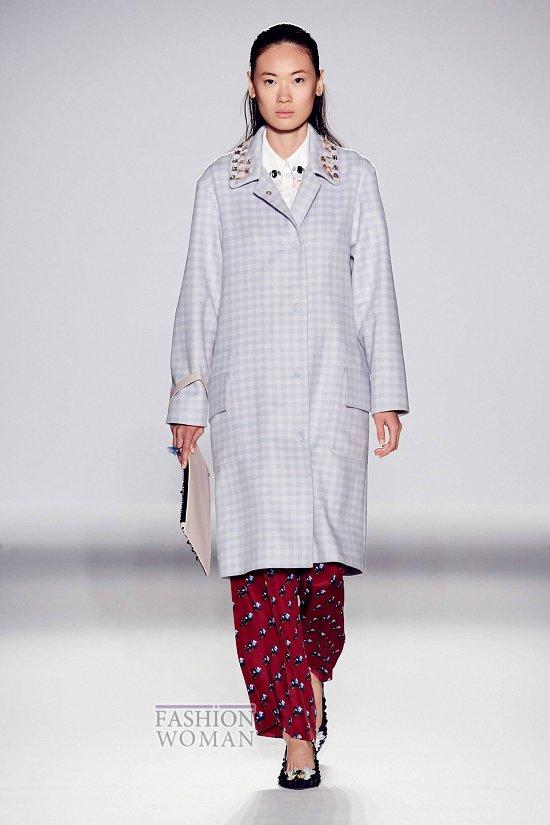 Модные пальто 2015 фото №51