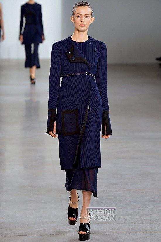Модные пальто 2015 фото №39