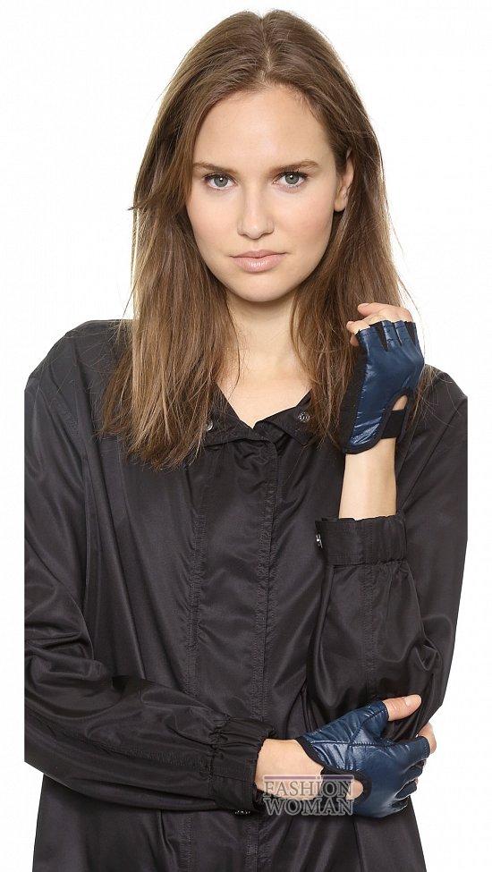 перчатки осень