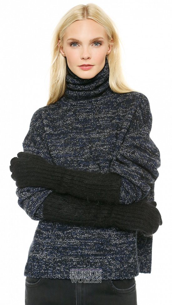 Модные перчатки осень-зима 2014-2015 фото №35