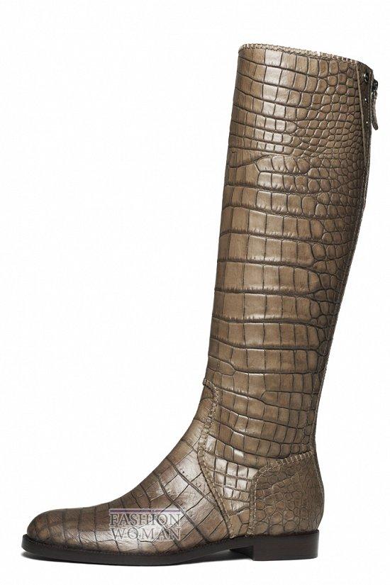 Сапоги из кожи рептилий