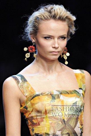 Модные серьги весна-лето 2012 фото №1