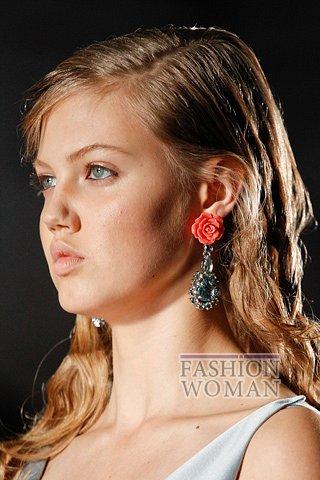 Модные серьги весна-лето 2012 фото №11