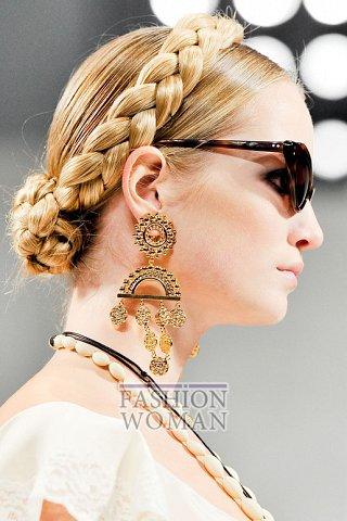 Модные серьги весна-лето 2012 фото №10