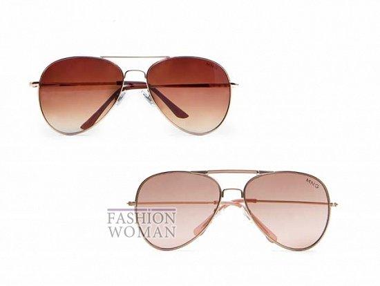 Модные солнцезащитные очки весна-лето 2012 от Mango фото №4